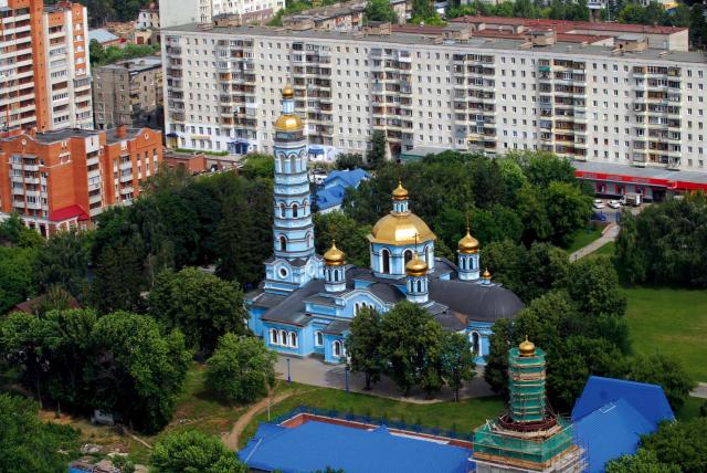 Уфа. Храм Рождества Богородицы