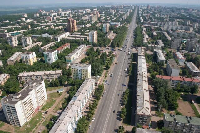 Уфа. Проспект Октября