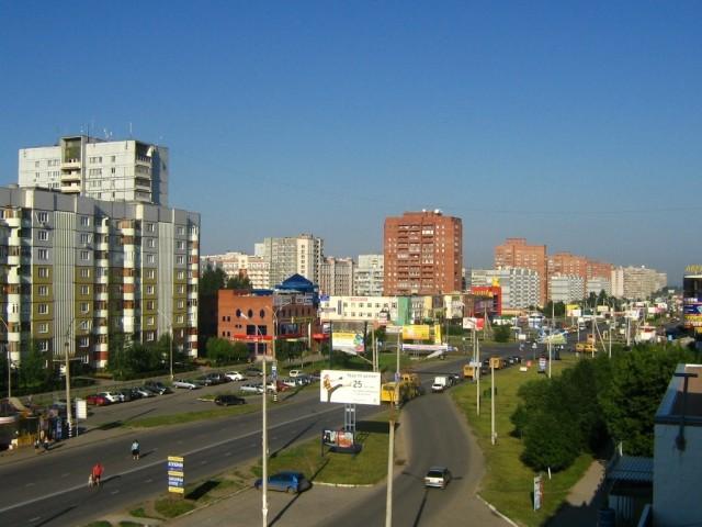 Улица 70 лет Октября в Тольятти