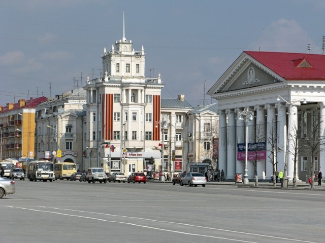 Центр. Улица Гоголя