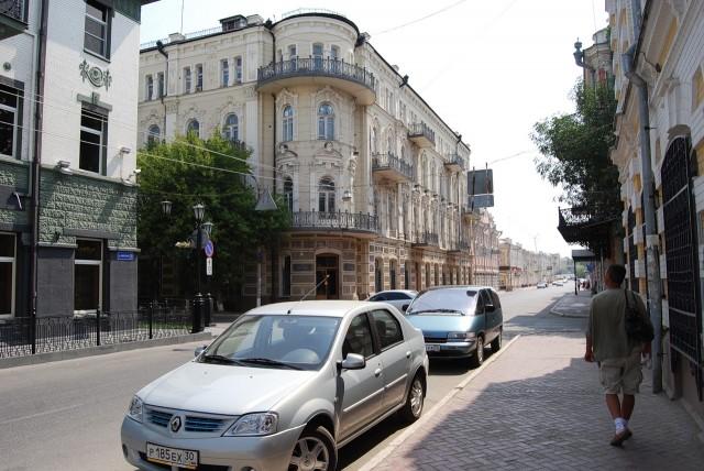 Улица Никольская в Астрахани