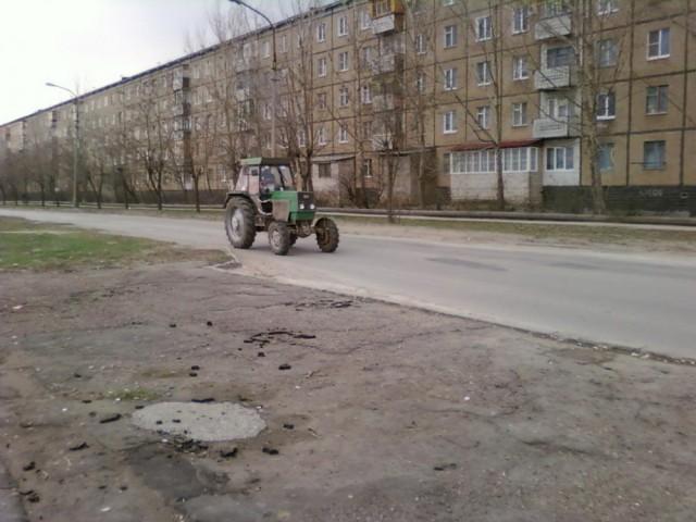 Улица Пушкина в Волжском