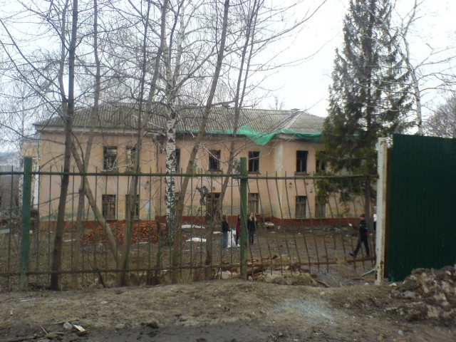 Ветхие дома - частое явление на Богданке