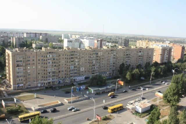 Волгодонск. Проспект Строителей