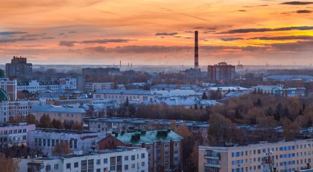 Вид на Заводский район
