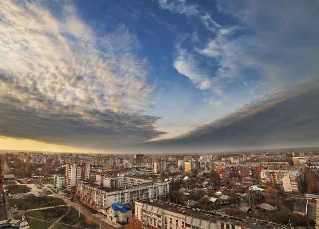 Йошкар-Ола. Вид с высоты