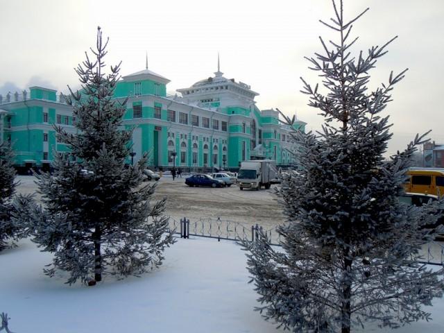 ЖД Вокзал в Омске