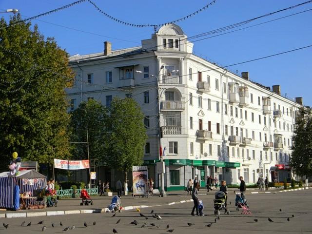 Здание на Советской площади