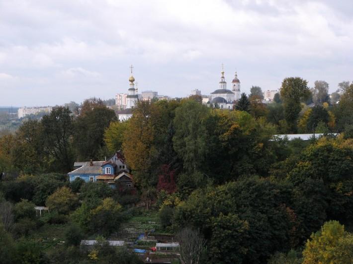 Владимир - зеленый город