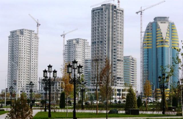 Строительство в Грозном
