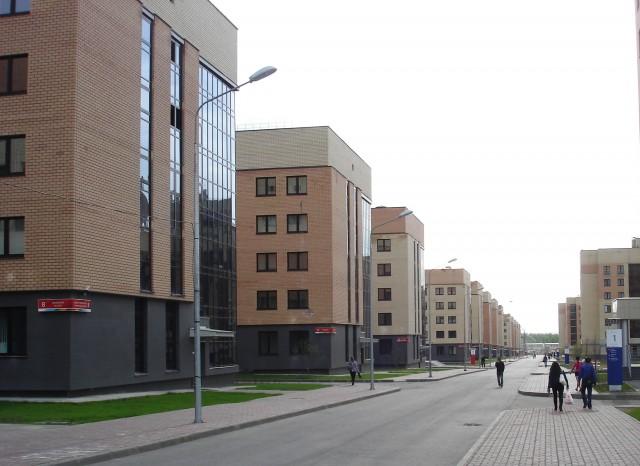 Деревня Универсиады 2013, построенная в Приволжском районе