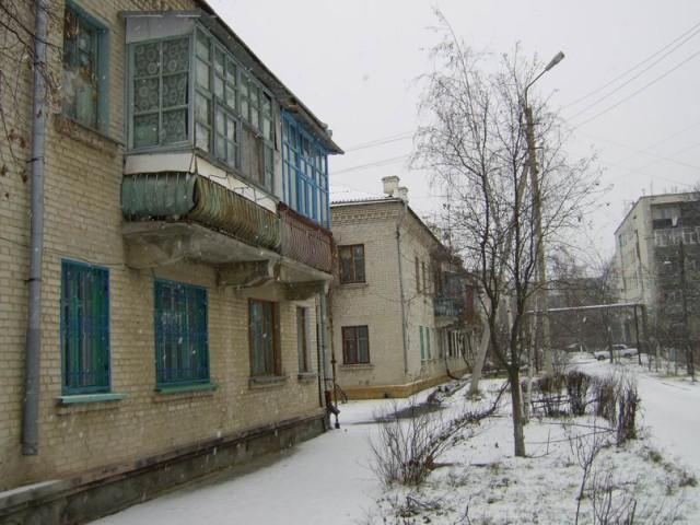 Дома в районе Фабрики