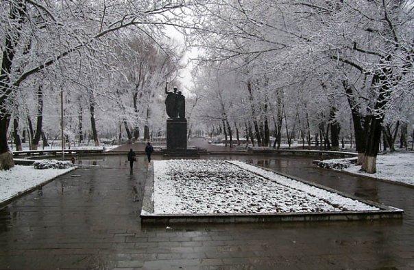 Зима в Махачкале