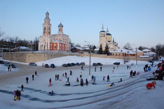 Зима в Серпухове