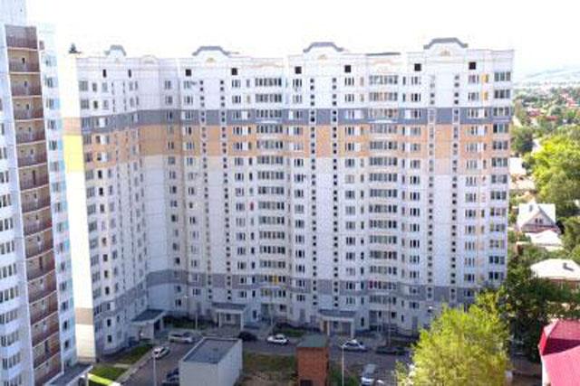 Новые дома на Борисовском шоссе