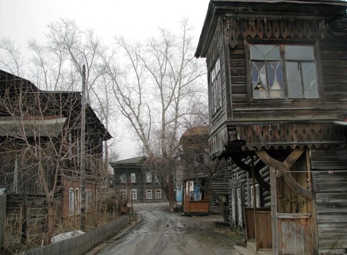 Татарская слобода в Томске