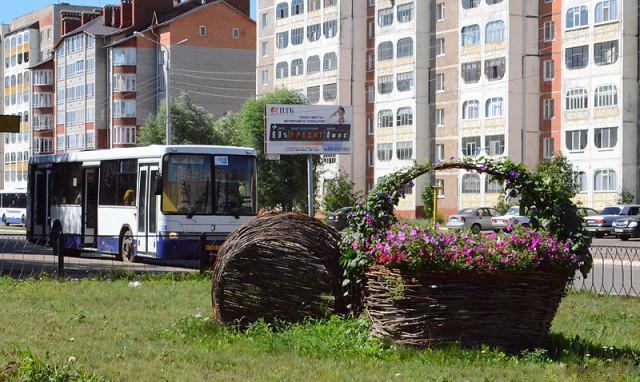 Автобус «НефАЗ» на улицах города