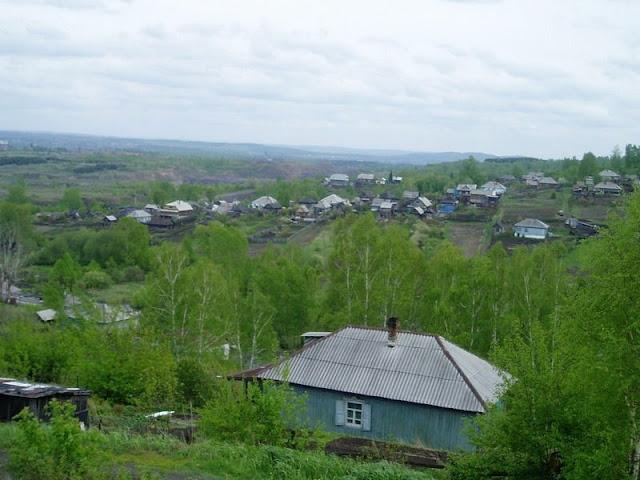 Частный сектор в Прокопьевске