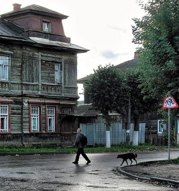 Один из примеров ветхого жилья