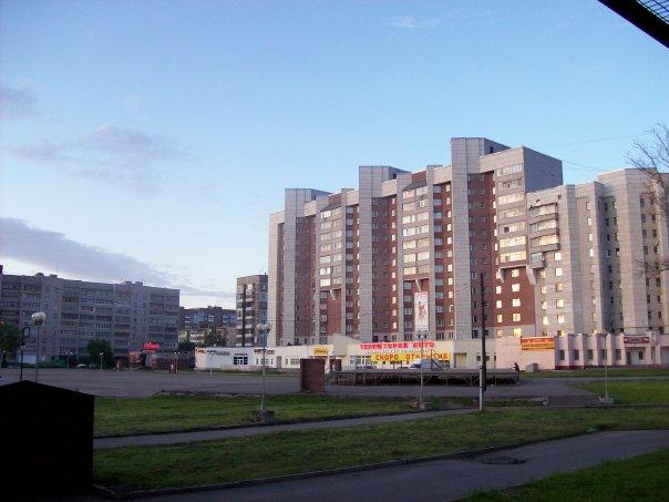 Череповец, Заречье, площадь Химиков