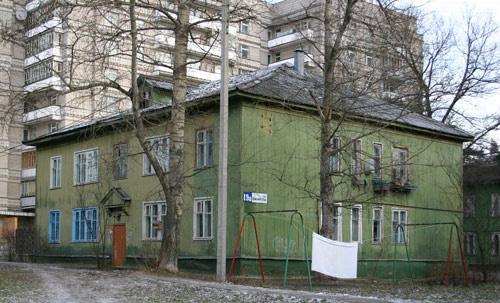 Дом, который подлежит сносу