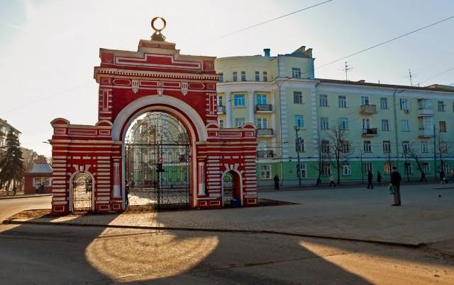 Красные ворота. Центр Кировского района Казани
