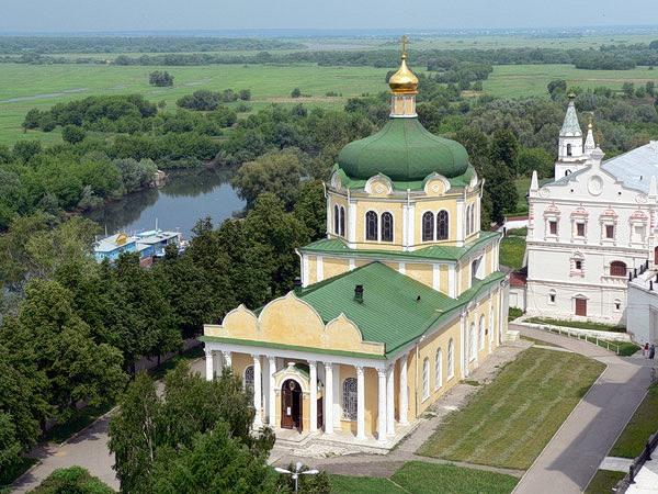 Рязанский кремль с колокольни