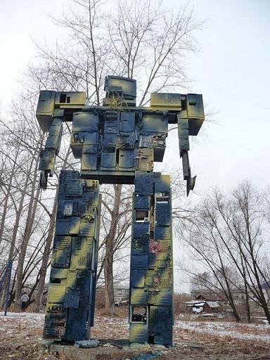 Памятник старым технологиям