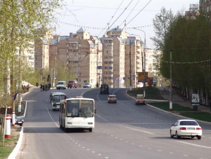 На улицах Саранска