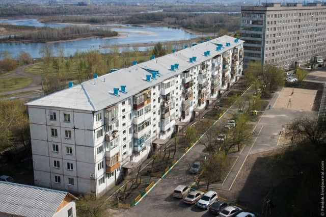 Красноярск. Зеленая роща