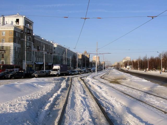 Соцгород, один из спальных микрорайонов Авиастроительного района Казани