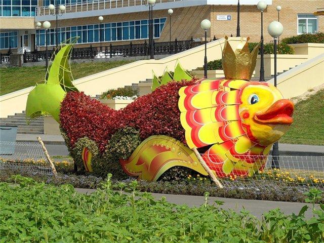 Цветочная рыба
