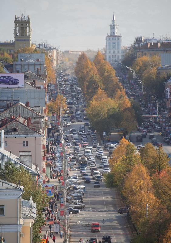 Пермь. Свердловский район