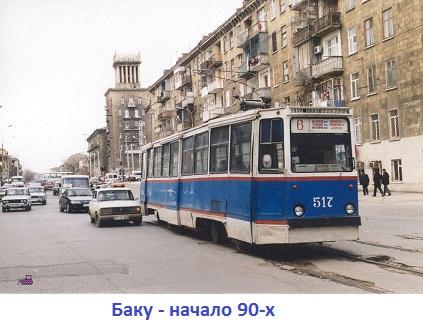 Баку-начало 90-х
