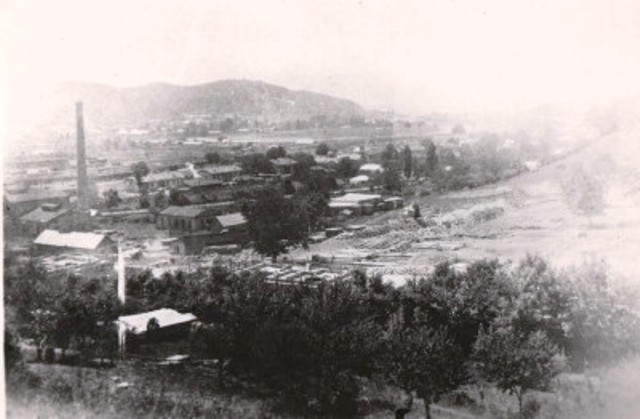 Город в прошлом