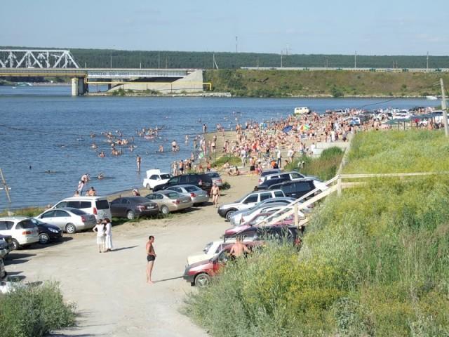 Бердский пляж