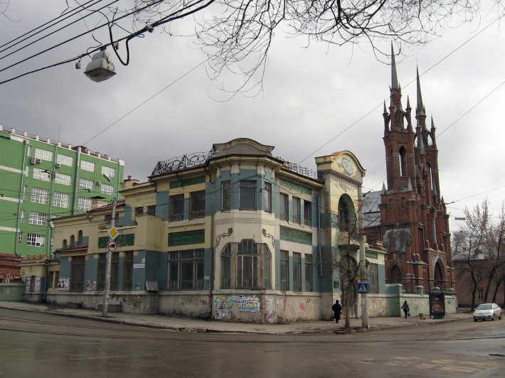 Дом Курлиной