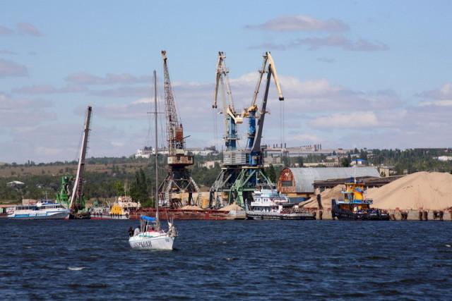 Камышинский речной порт