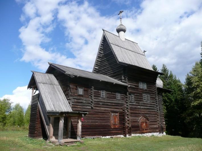 Общий вид Богородицкой церкви в Хохловке