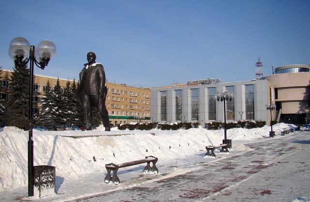 Площадь Ленина в Щёлково