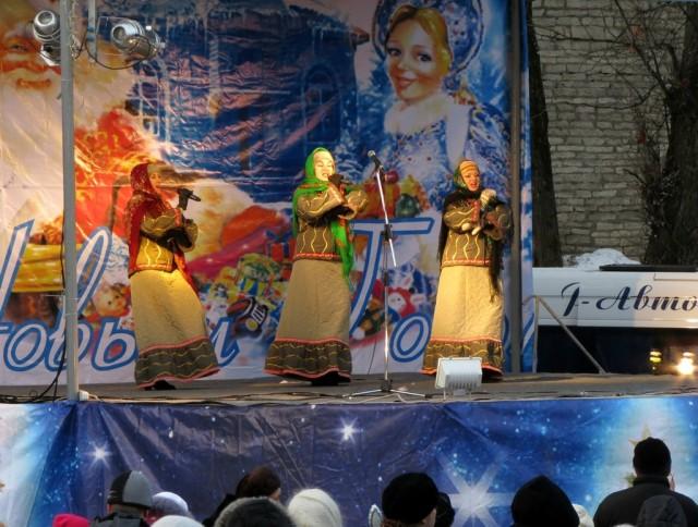 Рождество в Пскове