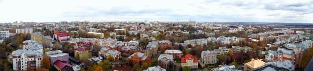Вид на центр Кирова