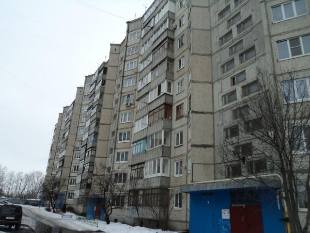 Типичные многоэтажки 7-го микрорайона