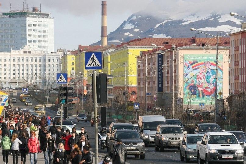 Город Норильск  климат, экология, районы, экономика, криминал и ... 2e4fc9094c1