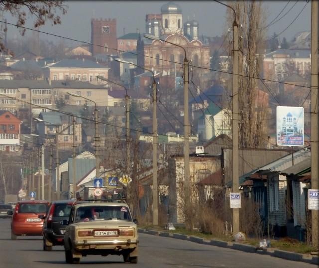 Улица Новолипецкая