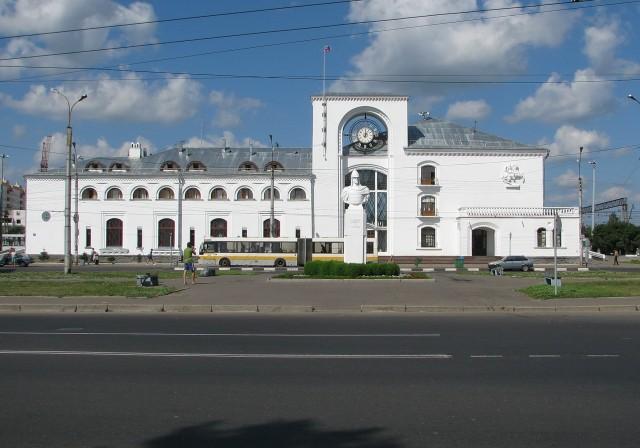 Вокзал в Новгороде