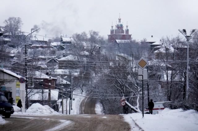 Зима в Сарапуле
