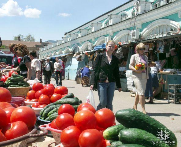 Рынок в Астрахани