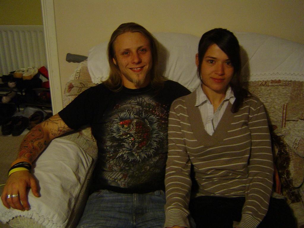 Брайан и Ракел: один без другого никуда