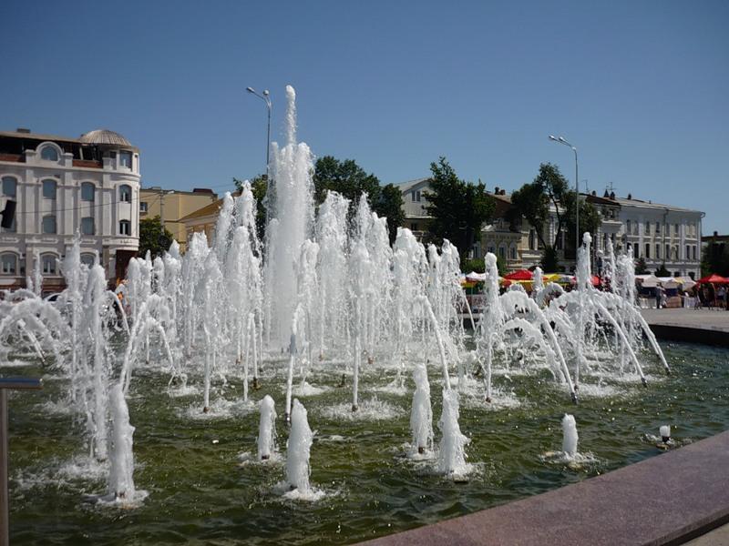 Музыкальный фонтан на Набережной